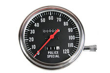 Police Special 2:1 Speedometer,for Harley Davidson motorcycles,by V-Twin