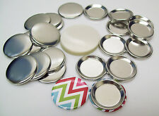 """1-1/4"""" (1.25 inch) Indented Back Button Parts for Button Maker Machines"""