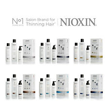 NIOXIN Hair SYSTEM KIT Cleanser Shampoo Treatment for Thinning Hair CHOOSE PACK