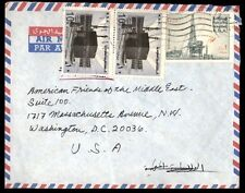 South Africa airmail cover to Washington DC USA multi-Franking