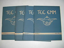 WW2 RAF MONTHLY TRAINING MAGAZINES TEE EMM PILOT OFFICER PRUNE You chose issues