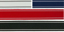 "7/8"" (22mm) Dual Color Stripe Grosgrain Ribbon 1078 (2 yds)"