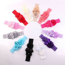 New Lace Baby Headband Chic Flower Princess Girls Headband Hair Accessories WB