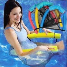 Water Toy Noodle Floating Chair Net Recreation Water Floating Seat Swimming Pool