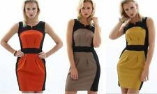 Gorgeous Colourblock Shift Mini Party Dress Size 8 10 12 14 16
