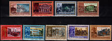 RUSSIA 1969 FAMOUS PEOPLE COMMUNIST LEADER LENIN RESIDENCES LOT OF 9 STAMPS MNH