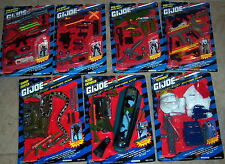 "GI Joe Hall of Fame 12"" Mission Gear & Weapons Arsenal Sets MOC"