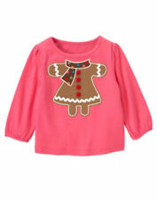 "NWT GYMBOREE GIRLS ""WINTER CHEER"" COLLECTION GINGERBREAD TOP SIZE 12-18 18-24M"