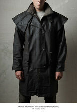 Drizabone Short 3/4 Oilskin Heavy Duty Riding Coat