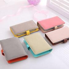Women PU Pouch ID Credit Card Wallet Cash Holder Organizer Case Box Pocket Q