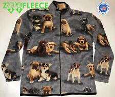 POLAR FLEECE JACKET DOGS PUPPIES CANINE K9 WARM SOFT THERMAL COAT SWEATER TOP