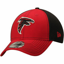 Atlanta Falcons New Era Team Front Neo 39THIRTY Flex Hat - Red/Black - NFL