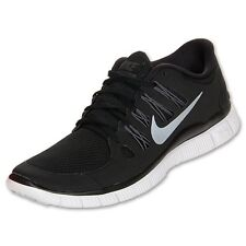 Nike Free 5.0 + Womens Running Size Shoes Black Sneakers DISPLAY 580591 002