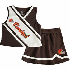Cleveland Browns Outerstuff Toddler 2 Piece Cheerleader Set Cheer - Brown