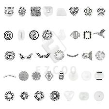 6-400pcs Tibetan Silver Loose Charm Spacer Beads Jewelry Findings 38 Style YB