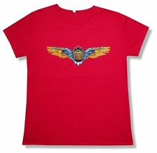 The Doobie Brothers Wings Classic Logo Red Girls Juniors T Shirt New Official