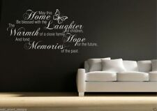 Family Memories Wall Art Sticker Room Lounge Quote Decal Mural Stencil Transfer