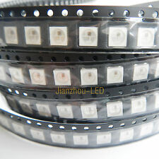 10-5000pcs WS2812B Built-in 5050 RGB Bead LED Chip Individually Addressable DC5V