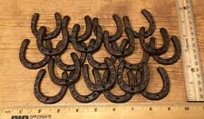 """Extra-Small Horse Shoe Rustic Cast Iron 2"""" by 2"""" Tall (Set of 25) 0170S-05211"""