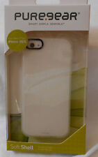 PureGear iPhone 5/5S Soft Shell Case - WHITE - New in Package