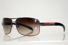 PRADA Mens Designer Brown Sunglasses SPS 54I 5AV-6S1 11057