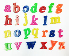 26pcs Plastic Alphabet Letters Baby Toys Kids Fridge Magnet  Educational Toy WB