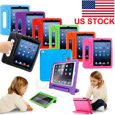 "Kids Shock Proof EVA Case Handle Cover Stand For iPad Mini 2 3 4 Air Pro 9.7"" US"