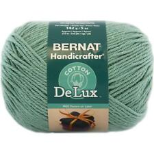 LOT of 3 ~Bernat Handicrafter DeLux Cotton Yarn~ Great for wearables & decor!