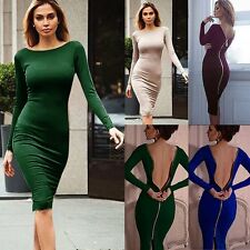 Sexy Lady Bandage Bodycon Party Queen Love Dress Cocktail Evening Back Zip Dress