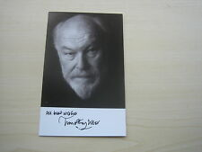 Timothy West (Brass, Eastenders) hand signed RARE *FREE POST*
