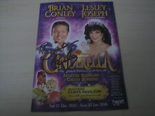 Brian Conley (2015/16 Southend Panto Flyer) hand signed RARE *FREE POST*