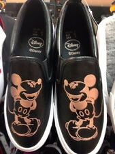 Primark Ladies DISNEY MICKEY MOUSE  Slip on Trainers Sneakers Shoes