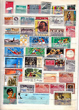 World wide collection...album page with used stamps......good collection