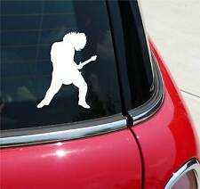ELECTRIC GUITAR PLAYER BAND MUSIC GUITARS GRAPHIC DECAL STICKER ART CAR WALL