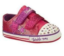 NEW INFANT GIRL SKECHERS TWINKLE TOES BABY SPARKS COSMIC DREAMZ SHOES SIZE 2 3