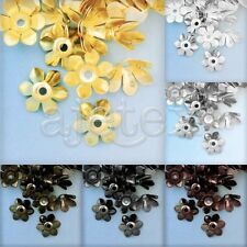 About50pcs Metal Beads Caps Jewelry Retro Finding 13x13x5mm