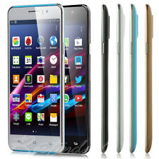 "5"" Dual Sim Dual Core Android 4.4 Mobile Smart Phone Unlocked 3G GSM WiFi GPS"