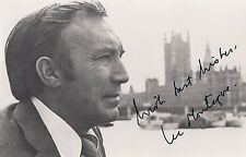 Lee Montague Hammer Horror Film Space 1999 Jackanory 1st Crew Hand Signed Photo