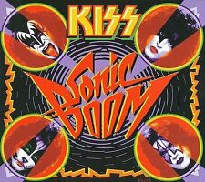 KISS Sonic Boom by Kiss Gene Simmons Paul Stanley (CD, Apr-2010, 3 Discs,)