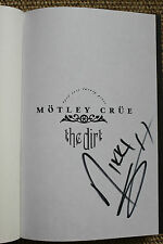Nikki Sixx Signed Autographed Book Motley Crue The Dirt Anniversary Edition NEW