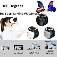 360 Degree Cube HD 1080P  VR Action Video Recording Camera WiFi 3 Colors GD