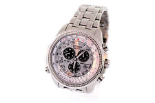 Men's Citizen BL5400-52A Stainless Steel Eco-Drive Chronograph Watch