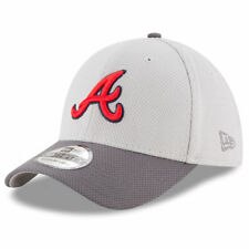 Atlanta Braves New Era Tonal Team Vize 39THIRTY Flex Hat - Gray/Graphite - MLB