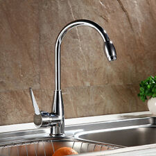 Hot/Cold Two Hole Mixer Water Tap Basin Kitchen Wash Basin Faucet Chrome Plated