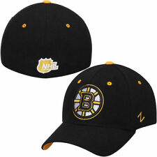 Boston Bruins Zephyr Breakaway Flex Hat - Black - NHL
