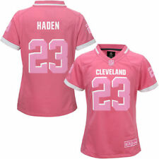Cleveland Browns Outerstuff Girls Bubble Gum Pink Jersey Football - Pink