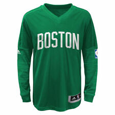 Boston Celtics adidas Youth On-Court Shooter Long Sleeve T-Shirt - Kelly Green