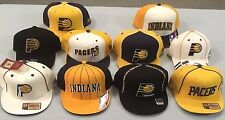 INDIANA PACERS SELECT 1 OF 10 FLAT BRIM OR PRO SHAPE FITTED AUTHENTIC NBA CAPS