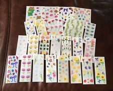 Creative Memories Stickers Spring Summer Flowers Iris Daisy Roses Pansy U Pick
