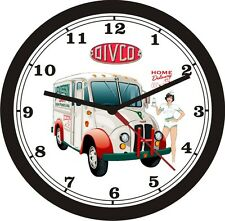 DIVCO CLASSIC MILK DELIVERY TRUCK WALL CLOCK-FREE USA SHIP!